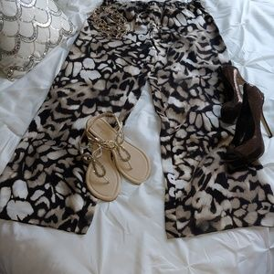 Brand new Calvin Klein wide leg pant with tags
